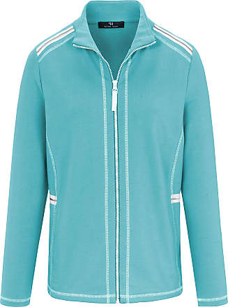 Peter Hahn Jacket in sweat fabric Peter Hahn turquoise