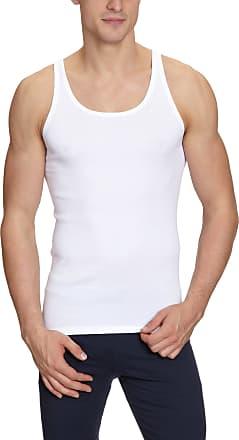 Schiesser Jacke 0/0 Maillots de corps Sans manche Homme - Blanc - Weiß (100-weiss) - FR : 5 (Taille, White (100-Weiss), 7