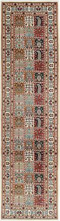 Nain Trading 294x80 Tappeto Fatto A Mano Moud Corridore Viola/Rosa (Lana / Seta, Persia/Iran)