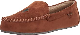 Ralph Lauren Dezi IV Snuff Tan Mens Moccasin Slippers-UK 7 / EU 41