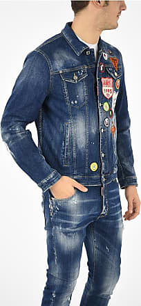 Dsquared2 Jean Jacket with Patches size 50