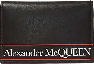 Alexander McQueen Bifold Card Holder Mens Black