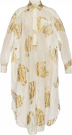 Lanvin Patterned Dress Womens White