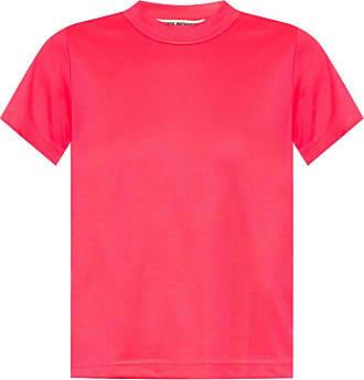 Junya Watanabe Junya Watanabe Comme Des Garcons Round Neck T-shirt Womens Pink