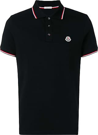 Moncler classic logo polo shirt - Black