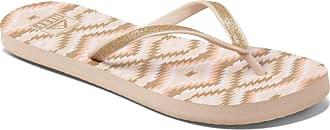 Reef Womens Sandals | Mist Prints Flip Flops, Loretto, 9