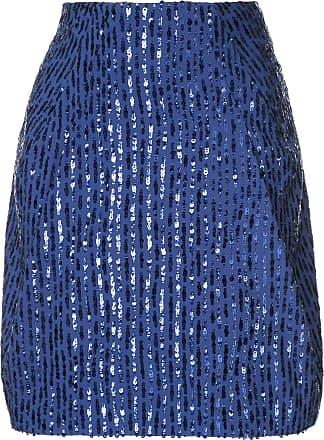 Nina Ricci Saia com paetês - Azul