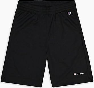 Champion Black Mesh Basketball Logo Shorts - large