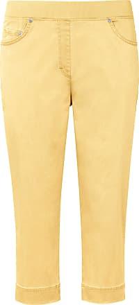 Brax ProForm Slim Capri trousers design Pamona Raphaela by Brax yellow
