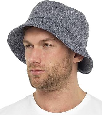 Tom Franks Mens Towelling Bucket Hat Blue Medium/Large