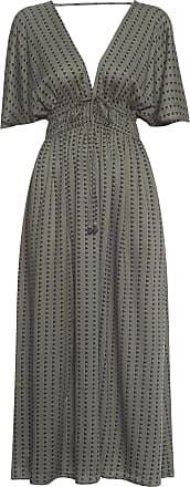 Dress To Vestido Midi Estampa Duna - Verde