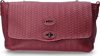 Zanellato Handbag BLANDINE leather logo bordeaux