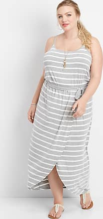 Maurices Plus Size - Stripe Tulip Hem Maxi Dress