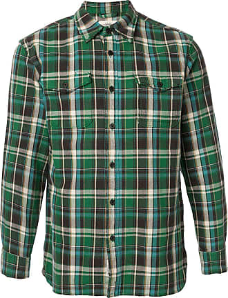 Kent & Curwen check pattern shirt - Green