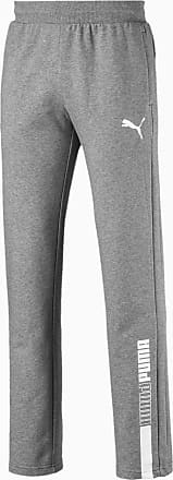 Puma Modern Sports Knitted Mens Pants, Medium Grey Heather, size 2X Large, Clothing