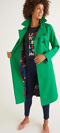 Boden Trenchcoat Green Damen Boden