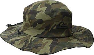 Quiksilver Mens Bushmaster Hat, Camo, Large/X-Large