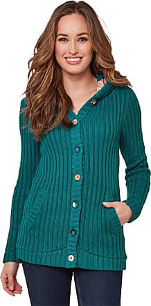 Joe Browns Womens Rainbow Longline Hooded Cardigan Sweater