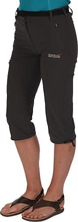 Regatta Womens Grey Xert Stretch Capri Trousers 18