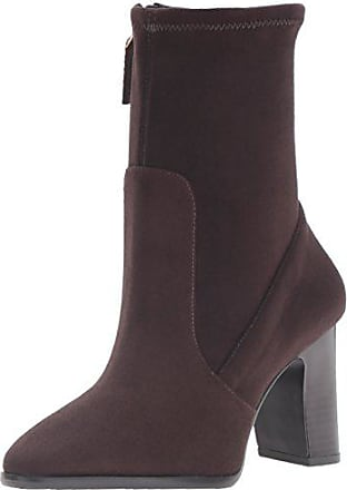 Nine West Womens Sadiah Ankle Bootie, Dark Brown, 10 M US