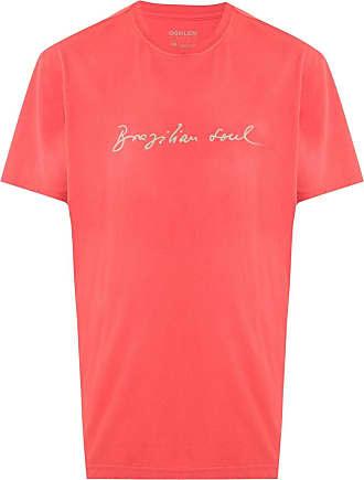 Osklen Brazilian Soul print T-shirt - ORANGE