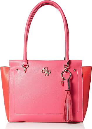 Guess Womens Kim Satchel Bag, Passion Multi, One Size