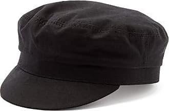 Isabel Marant Evie Cotton Baker Boy Hat - Womens - Black