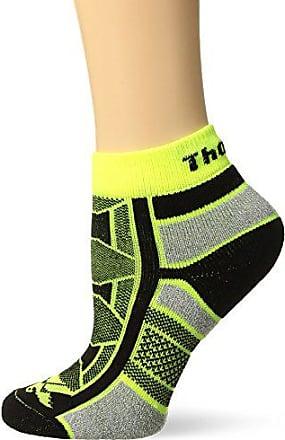 85e451637 Thorlos Thorlos Unisex OAQU Outdoor Athlete Thin Padded Ankle Sock, YELLOW  JACKET, XLarge