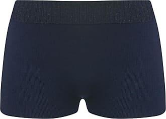 BALLETTO Shorts Tricô com Lurex Azul Marinho - Mulher - M BR