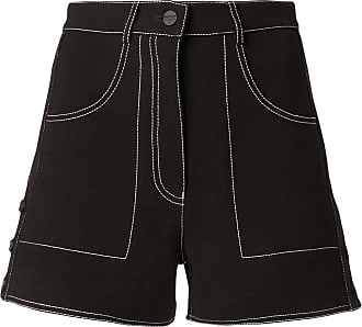 Dion Lee rivet micro shorts - Black