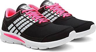 Zeus Tênis Caminhada Feminino Confortável Leve Macio Esporte Preto 39