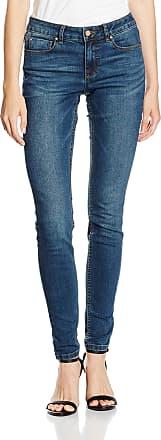 Vila Womens VICOMMIT LUX RW 5P Washed DB-NOOS Jeans, Blue (Dark Blue Denim), L