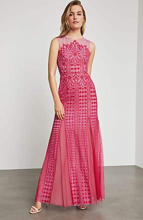BCBGeneration Elinor Sleeveless Lace Gown
