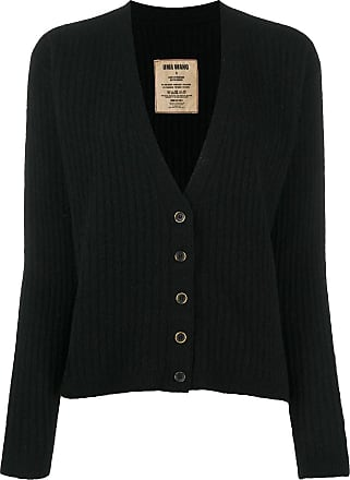 Uma Wang V-neck ribbed knit cardigan - Black