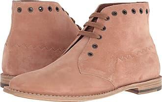 446a2dc54468 Bottega Veneta Suede Ankle Boot (Dahlia) Mens Boots