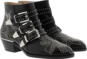 Chloé Boots & Booties - Susanna Nappa Boots Black Silver - black - Boots & Booties for ladies