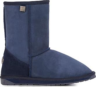 14f81fd9dc Emu Australia Platinum Stinger Lo Womens Real Sheepskin Boots Australian  Made Size UK 10 Indigo