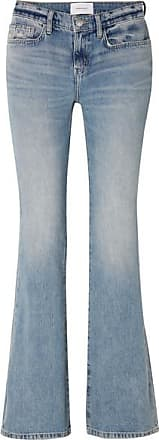 Current Elliott The Jarvis Mid-rise Flared Jeans - Light denim