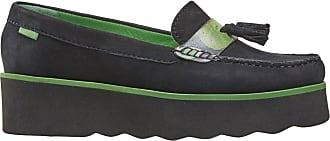 Van Dal Womens Lottie Black Floral Suede Flatform Loafer Flat, Size 36 EU