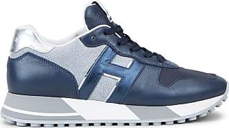 Hogan Sneakers H383, SILBER,BLAU, 34.5 - Schuhe