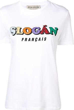 être cécile Slogan Francais T-shirt - White