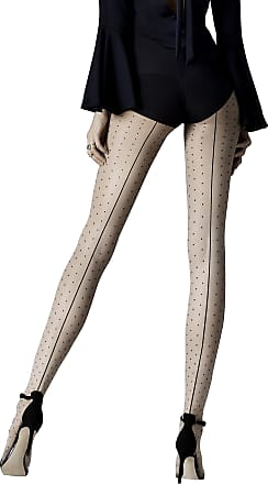 Fiore Luxury 20 Denier Sheer Seamed Stockings Available in Black or Red