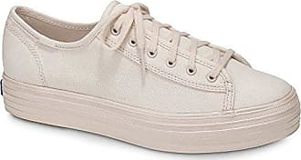 Keds Womens Triple Kick Shimmer Sneaker, Light Pink, 11 M US