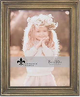 Lawrence Frames Lawrence Woods Picture Frame, 8x10, Brown