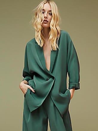 Icone Long peacock-green jacket