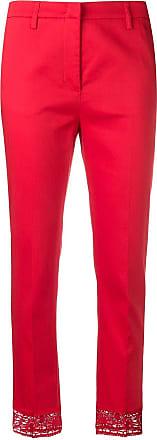 Blumarine slim-fit trousers - Vermelho