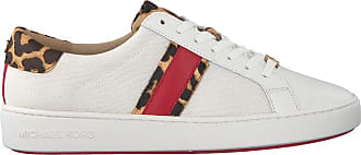 c8c86f3ebf8 Michael Kors Witte Michael Kors Sneakers Irving Stripe Lace Up
