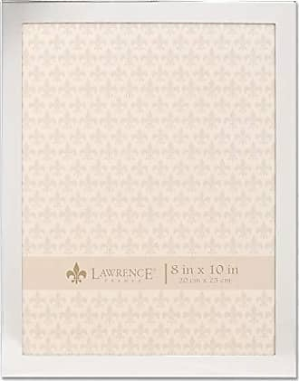 Lawrence Frames 8x10 Flat Silver Metal Picture Frame