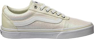 Vans Womens Ward Canvas Low-Top Sneakers, Off-White ((Glitter Rainbow) White Xy2), 5 UK 38 EU