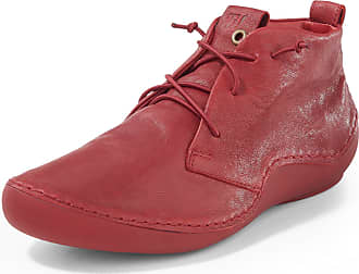 Think Ankle-high lace-up shoes Kapsl Think! red